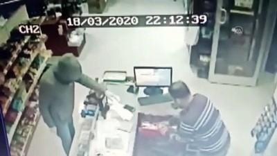 Bıçakla bakkalı gasbeden şüpheli tutuklandı - ADANA