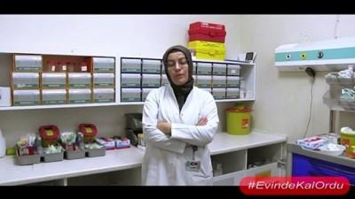 Sağlık çalışanları 'evinde kal' çağrısında bulundu - ORDU