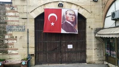 Osmanlı mirası tarihi çarşılar geçici süreyle kapatıldı - EDİRNE