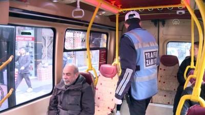 Bahçelievler'de toplu taşıma araçlarına yönelik denetim yapıldı - İSTANBUL