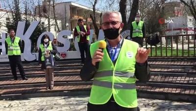 Belediye Başkanı Mustafa Helvacıoğlu halkı tek tek uyardı