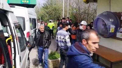 Seyahat kısıtlamasına uymayan yolcular İstanbul'a geri gönderildi - SAKARYA