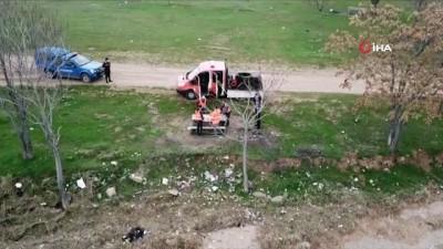 - Kırıkkale'de drone ile Korona virüs denetimleri