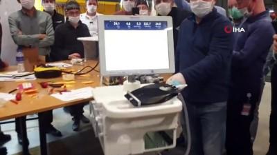Selçuk Bayraktar, yerli solunum cihazının ilk prototipini paylaştı