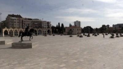 Meydanlarda koronavirüs sakinliği yaşanıyor - ŞANLIURFA