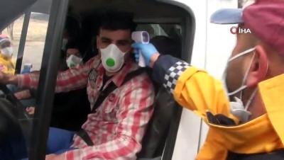 Koronavirüs saha ekibinden 'evde kal' çağrısı