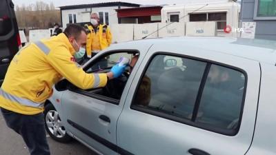 Polis, jandarma ve sağlık ekipleri korona virüs denetimi yaptı