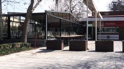 Meydanlarda 'koronavirüs sessizliği' - KAYSERİ