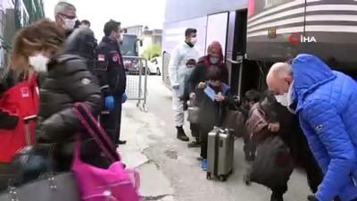 3 ülkeden getirilen 206 Türk, öğrenci yurtlarında karantinaya alındı