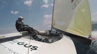 Milli yelkenci Alican Kaynar'dan 'Evde Olimpiyat Var' projesi - İSTANBUL