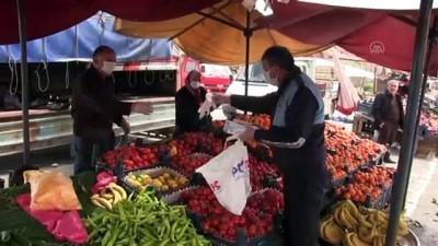 Kahramanmaraş'ta koronavirüs tedbirleri devam ediyor