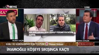 Osman Gökçek, 'İmamoğlu iki dakikada çark ediyor'