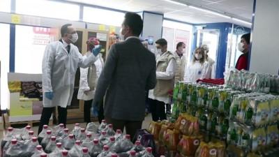 Osmaniye'de koronavirüs tedbirleri