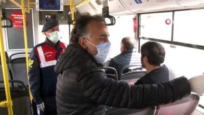 Ankara'nın giriş ve çıkışlarında korona virüs tedbirleri devam ediyor