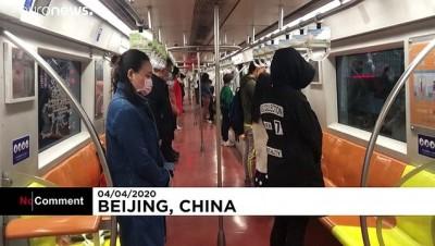Çin'de koronavirüsten ölenler için ulusal yas töreni düzenlendi