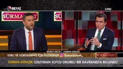 Osman Gökçek: Soylu onurlu bir davranış ortaya koydu