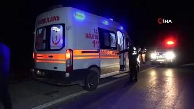 Elazığ'da trafik kazası : 1'i ağır 3 yaralı