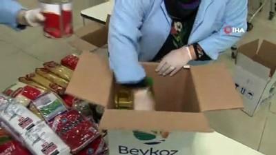 - Beykoz'da 10 bin aileye gıda ve hijyenik madde yardımı