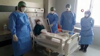 - Erzincan'da 99 yaşındaki hasta korona virüsü yendi