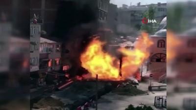 Beylikdüzü Gürpınar'da doğal gaz patlaması
