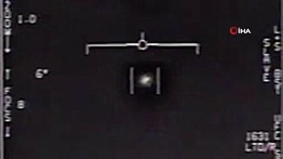 - Pentagon üç UFO görüntüsü yayınladı