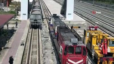- Samsun-Sivas yük treni seferleri başladı