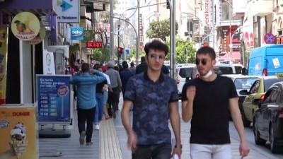 Geçtiğimiz haftalarda boş olan Mersin'in en işlek caddeleri yeniden hareketlenmeye başladı