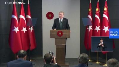 Cumhurbaşkanı Erdoğan, sokağa çıkma kısıtlamasının bu hafta üç gün olacağını açıkladı