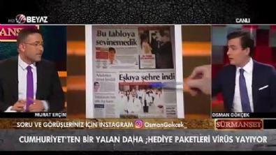 Cumhuriyet Gazetesi'nin manşetleri isyan ettirdi!
