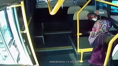 İstanbul'da minibüslere el dezenfekte ünitesi konuldu