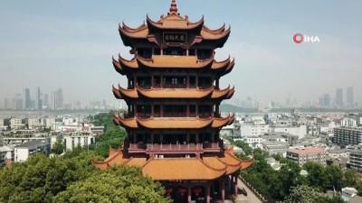 - Wuhan'ın simgesi Sarı Turna Kulesi yeniden ziyarete açıldı