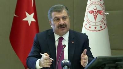 Koronavirüs Bilim Kurulu, yeni tip koronavirüs  ile mücadelede son durumu değerlendirmek üzere video konferans yöntemiyle toplandı. Sağlık Bakanı Fahrettin Koca, toplantının ardından açıklama yaptı