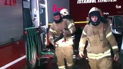 İSTOÇ'daki geri dönüşüm tesisinde çıkan yangın söndürüldü