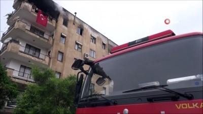 Milas'ta bir evin mutfağında patlayan tüp korkuttu