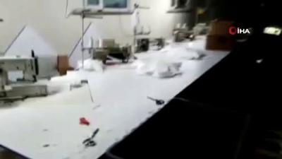 İstanbul'da kaçak üretilen 20 bin tıbbi maske ele geçirildi