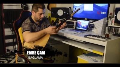 Edirne'den Rumeli Türkülü 'evde kal' mesajı
