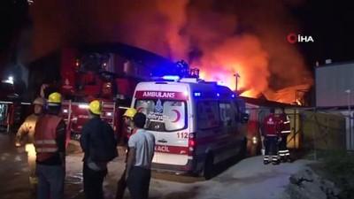 İstanbul Finans Merkezi şantiyesinde yangın çıktı