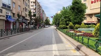Cadde ve sokaklar boş kaldı - ESKİŞEHİR