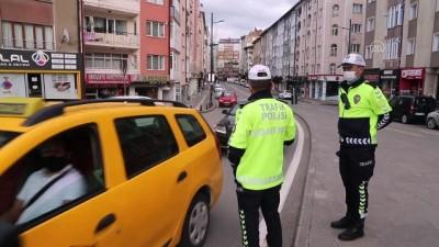İç Anadolu, sokağa çıkma kısıtlamasının ardından sessizliğe büründü (2) - SİVAS