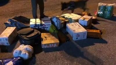 Kargo aracındaki valizden 34 bin uyuşturucu hap çıktı