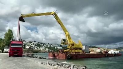 Bodrum'da sitenin sahil kısmında kaçak iskele yapıldığı iddiası - MUĞLA