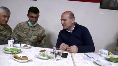 İçişleri Bakanı Soylu asker ailelerinin bayramını kutladı - HAKKARİ