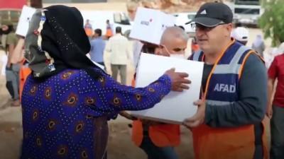 AFAD'dan İdlib'deki ihtiyaç sahiplerine gıda yardımı - ANKARA