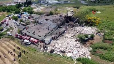 Başakşehir'de fabrikanın kazan dairesinde patlama: 2 ölü