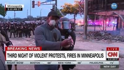 Minneapolis Olayları Sırasında CNN Ekibine Canlı Yayında Gözaltı