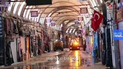 Covid-19 nedeniyle kapanan İstanbul'un tarihi çarşıları kapılarını yeniden açıyor