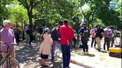 Washington'da Protestolar Sürüyor