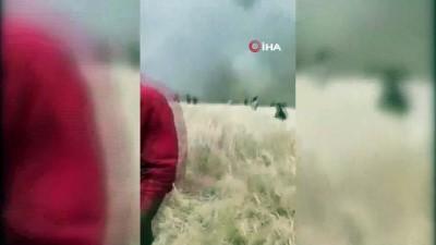 Terör örgütü YPG/PKK, sivillerin tarım arazisini yakmaya devam ediyor