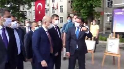 Bakan Karaismailoğlu Atatürk'ün Tokat'a gelişinin 101. yılı törenine katıldı