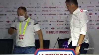 Hüseyin Eroğlu: 'Hak etmediğimiz bir mağlubiyet aldık' - Serkan Özbalta: 'Play-off şansımızı son maça kadar zorlayacağız'
